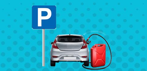 «Идеальная парковка» - выиграйте 200 литров автомобильного топлива
